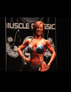Donna Merritt at Figure Competition
